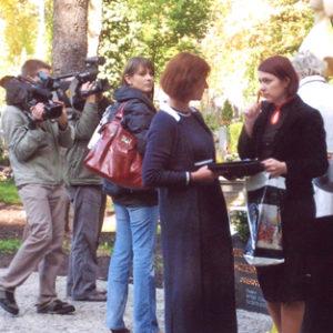 2008-10-12 Odsłonięcie Pomnika Dziecka Utraconego na Cmentarzu Centralnym (7)