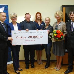 Przekazanie środków na zakup sprzętu dla Szpitala w Goleniowie (1)