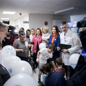 2016-01-19 Przekazanie sprzętu dla Klinicznego Oddziału Nefrologii, Pediatrii (2)