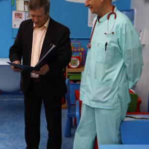 Przekazanie sprzętu medycznego dla Szpitala w Nowogardzie (1)