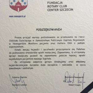 Przekazanie sprzętu medycznego dla Szpitala w Nowogardzie (12)