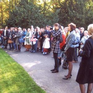 2008-10-12 Odsłonięcie Pomnika Dziecka Utraconego na Cmentarzu Centralnym (4)