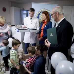 2016-01-19 Przekazanie sprzętu dla Klinicznego Oddziału Nefrologii, Pediatrii (7)